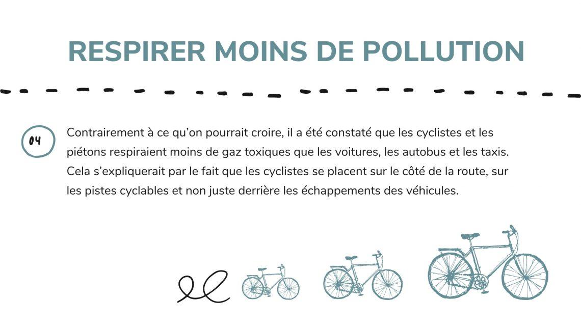 moins de pollution