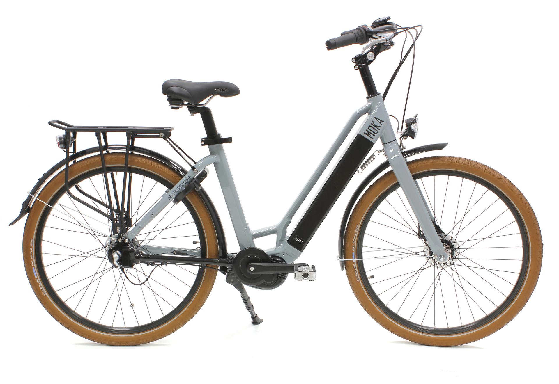 vélo moka gris